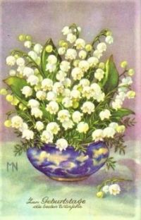 Themes Vintage illustrations/pictures - Lily of the valley