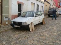 Car in Silves, Algarve