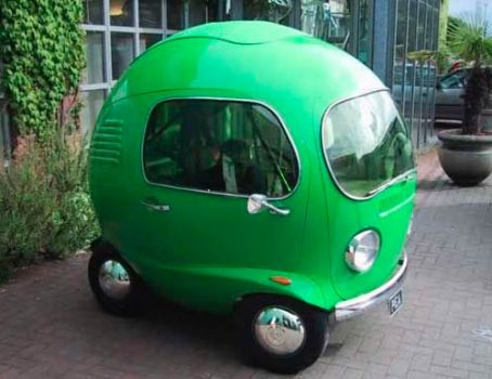 Micro Car Green Bubble Soviet