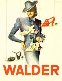 Themes Vintage ads - Walder Shoes