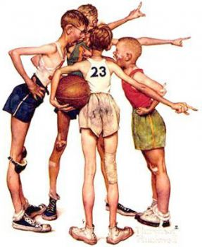 Norman-Rockwell-Painting