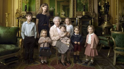 Gan Gan and grand children and great grandchildren