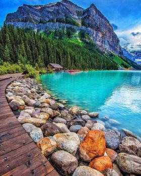Lake Louise, Banff National Park, Alberta, Canadá