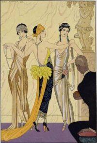 George Barbier - The Judgement of Paris (1923)