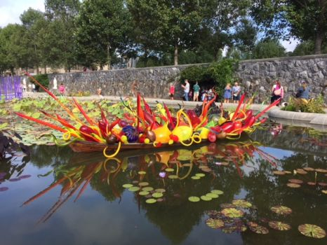Chihuly at The Biltmore House 9/2018