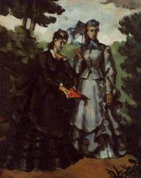 Paul Cézanne: Promenade (1871)