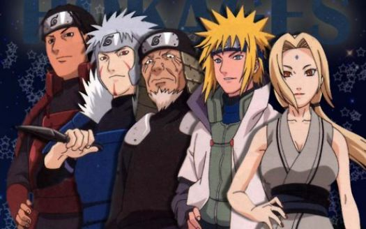 Solve 5 Hokages of the Hidden Leaf Village jigsaw puzzle ...