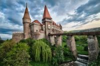 Hunyad Castle, Romania.  6715