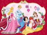 Disney-Princess-Christmas-Wallpaper