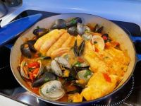"""""""Sword Coast Seafood Bouillabaisse"""" from the Heroes' Feast Dungeons & Dragons Cookbook"""