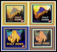 This week's Theme - National and State Parks - On Vintage Fruit Crate Labels