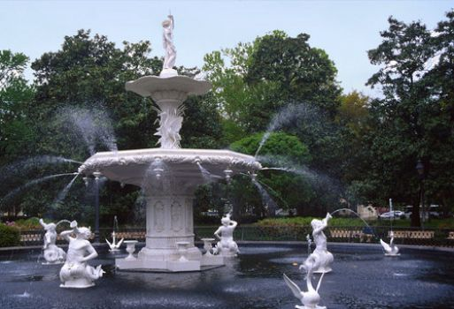 Forsyth Fountain, Savannah, GA