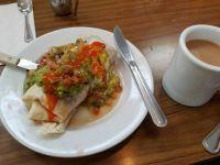 Breakfast Burrito at Coffee Shop 101 LA