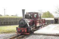 Brecon Mountain Railway 25-04-2019 Pant Station locomotive Graf Schwerin-Lowitz 1261-1908 Arnold Jung 01
