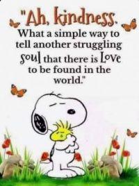 Snoopy Kindness..