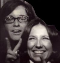 1970 Becky Tolle 21, Margit Szabo 21; college roommates; still best buds 50 yrs later!