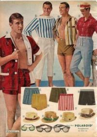 Men's Swimsuit ad