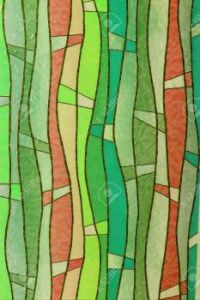 15285064-Stained-glass-church-window-Stock-Photo-abstract