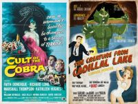 Cult of the Cobra ~ 1955 and The Creature From Cadillal Lake