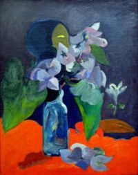 Paul Gaughin Still Life With Flowers