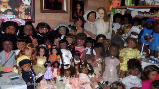 Such A Precious Collection Of  Debbie Behan Garrett's Vintage And Modern Dolls 1950's Thru The 1960's