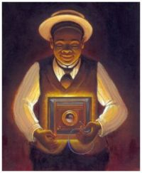 Take a Picture of Me, James VanDerZee ~ Keith Mallett