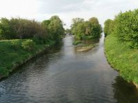 Soutok řek Svratky se Svitavou na jihu Brna