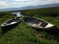 Teton River canoes