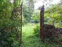 Kinloch Castle - Rusty Gates
