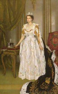 Queen Elizabeth II Coronation Portrait