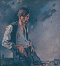Sir William Orpen (1878 – 1931), Man of the West