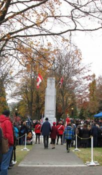 War Memorial, Victoria Park, North Vancouver