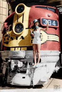 1940's - Santa Fe F3 diesel