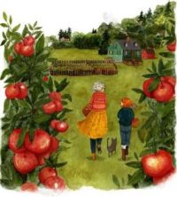 Picking Apples With Grandma