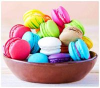 A Well Stocked Bowl of Colourful Macarons