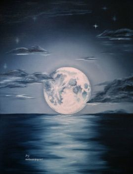 The Moon That Soothed The Siren ~ MELANIEJOY - easy