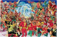 Echoes of Shazam by Alex ross