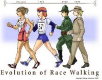 Evolution of Race Walking