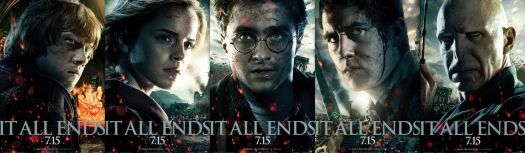 Harry Potter It All Ends