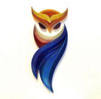 Lovely Filigree Owl