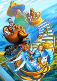 Steampunk  ~  Alice & Teacups