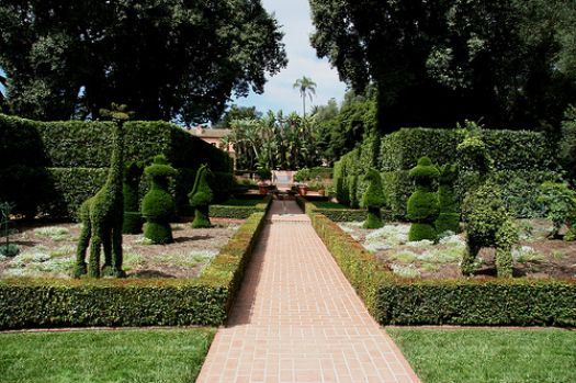 Lotusland Topiary Garden