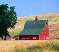 Red Barn in the Palouse.....