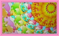 Sunburst in pastels . . . . .