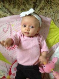 Julia, sweet baby girl