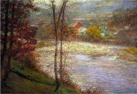 John Ottis Adams - Morning on the Whitewater, 1903