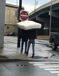 Wrongway mattress