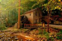 Grist Mill, Norris Dam State Park in Tennessee
