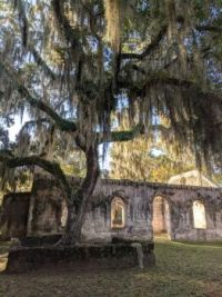 Chapel of Ease built in 1740 St. Helena Island, SC