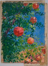 Robert David Gauley (American, born in Ireland,1875–1943), Pomegranates, Granada (1895)